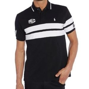 RALPH LAUREN POLO SHIRT NY PRLC NY CYCLING TEAM XL